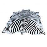 Erstaunliche Zebra-Teppich-Ideen