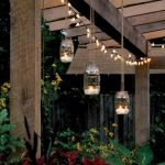 15 Ideas for Outdoor Mason Jar Lights to Add a Romantic Glow to Your Patio - The ART in LIFE