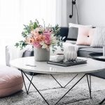 18 White Marble Coffee Tables We Love - Coffee Table - Ideas of Coffee Table #co... - Trend Home