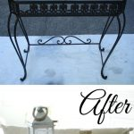 2-Step Paint Technique  Coastal Beach Theme Painted Furniture | Before and Afte