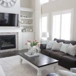 + 39 The Birth Of Dark Brown Couch Living Room Color Schemes Decorating Ideas 161 | Living Ro...