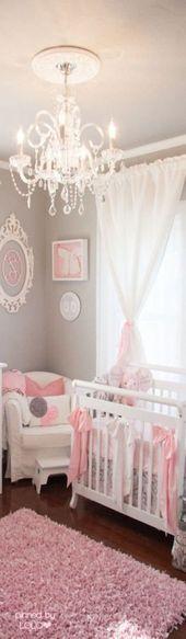 45 Ideen Baby Mädchen Zimmer Vorhänge Kronleuchter für 2019  Baby  #Baby #Ch …