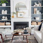 90 Cozy Farmhouse Living Room Rug Decor Ideas - HomeSpecially