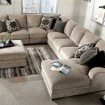 Ashley Furniture:Cosmo- marble  3 piece, RAF sectional sofa  Chaise, armless lov...