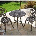 August Grove Oleson 3 Piece Bistro Set | Wayfair