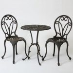Best Selling Home Decor Thomas 3-Piece Black Metal Frame Bistro Patio Set with Bistro at Lowes.com