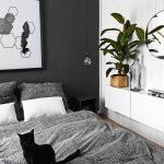 Black Geometric Feather Print, Minimalist poster, Art, Printable, Teal Geometric Art,Teal Decor, Abstract Poster, Printable Bedroom Art