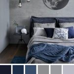 Blue and grey bedroom color palette - Fabmood | Wedding Colors, Wedding Themes, Wedding color palettes