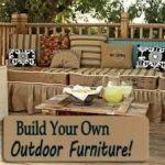 Build Your Own Outdoor Furniture ,  #Build #diyoutdoorfurniture #furniture #outdoor