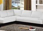 Contemporary White Sectional Sofa TOS-LF-B6222