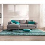 Delife Designer-Ecksofa Silas 235x147 cm Grau Ottomane Links, Ecksofas, Designer Sofa DeLifeDeLife