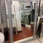 Diamond Crush Wall Mirror - Mirrored furniture - Sparkle Diamond - House of Spar...