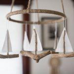 Driftwood Sailboat Mobile -CUSTOM ORDER- Baby mobile, Nautical Nursery/Nursery Decor/Nautical/Rustic/Baby Room/Baby Decor/Handmade