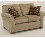 Flexsteel Living Room Fabric Loveseat 5535-20 - Hollberg's Fine Furniture - ...,  #fabric...
