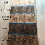 Hardwood Floor Stains on Red Oak #homeimprovementlogo