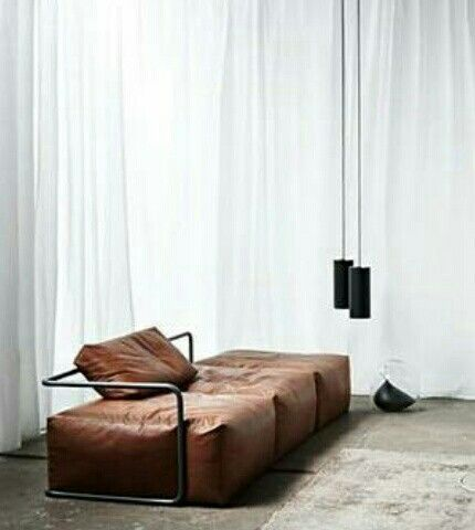 Home Decorating DIY Projects: Cognac leather sofa – Decor Object | Your Daily dose of Best Home Decorating Ideas & interior design inspiration