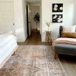 Juniper Home Master bedroom rug: Loloi LQ-15 Loren Collection Vintage Printed Pe...