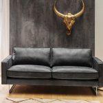 Kasper-Wohndesign Ledersofa 2,5 Sitzer oder 3,5 Sitzer Leder schwarz »ALINE« online kaufen   OTTO