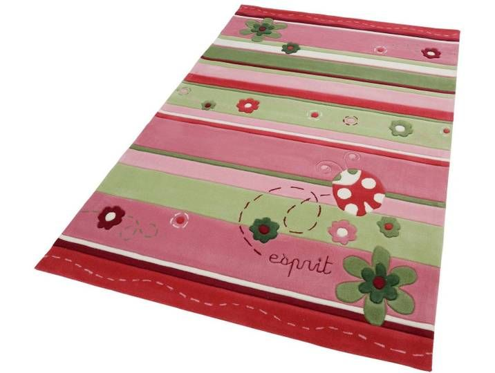 Kinder-Teppich , bunt, eckig, 160x240cm, »Ladybird«, Esprit