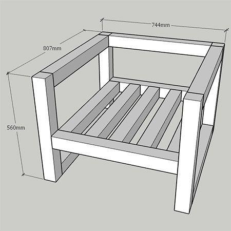 MAISON MAISON Bricolage Bricolage | Faire une chaise moderne de bricolage