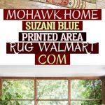 Mohawk Home Suzani Blue Printed Area Rug - Walmart Com , #carpetforlivingroom mo...