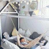 Nathan Zimmer Hammock  kinderzimmerideen… | Ideen für Kindergärten#kitchenga…