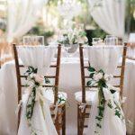 SALE! 50 Chiffon Sashes, chiavari chair cover sash with rhinestone ring wrap, chair cover, wedding reception, bridal party, wedding decor