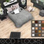 Sims 4 CC's  The Best: Wood Floors by Pralinesims #flooring #home #decor #floori...