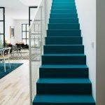 Tapis bleu sarcelle moderne - medodeal.com/interieur