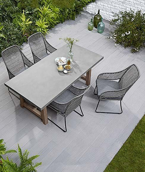 Terrace furniture Seating Terrace Table and chairs for the terrace Garden