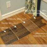 Testing Minwax Stain Colors For Hardwood Floor - Addicted 2 Decorating®