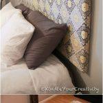 Têtes de lit bricolage – 40 idées de têtes de lit bricolage faciles et bon marché - bingefashion.com/fr