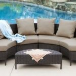 Venice Outdoor Wicker Sectional Sofa (5-Piece) #relaxingsummerporches Groupon - ...