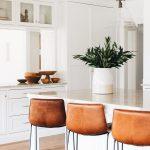 White Kitchen Renovation - Home Bunch  Interior Design Ideas