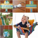 Wonderful DIY Hammock Type Baby Swing