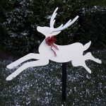 Wood Magazine - Woodworking Project Paper Plan to Build Dashing Deer