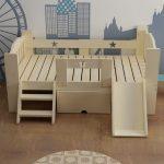 lits pour enfants meubles de maison en bois massif pour enfants avec lit a echelle coulissante tiroir enfant enfant nid muebles 168 60cm nouveau - Wood Design