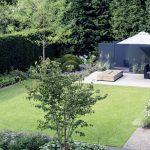 moderne Gartenarchitektur Düsseldorf - Hausgarten 1 - gartenplus - die gartenar...