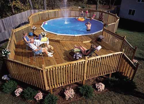 This is my dream pool/deck. I really want to extend/rebuild our .