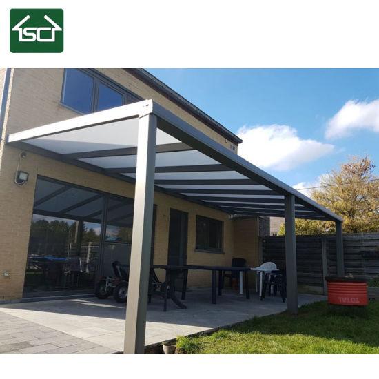 China New Product Garden Aluminium Carport Polycarbonate Roof .