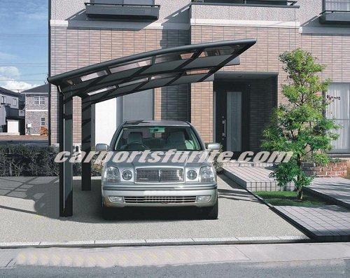 Aluminium carport with polycarbonate sheet roof aluminium .