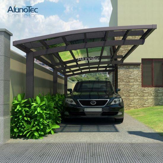 China Factory Price Metal Aluminium Cantilever Carport for Garden .
