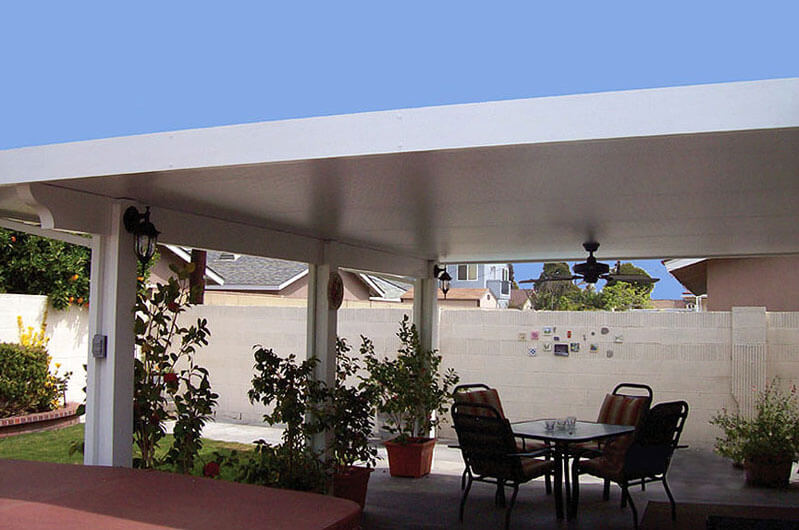 Building a Patio Aluminum Awning to Enhance your Backyard or De