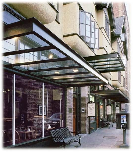 glass awning - Bing Images (With images) | Canopy outdoor, Patio .