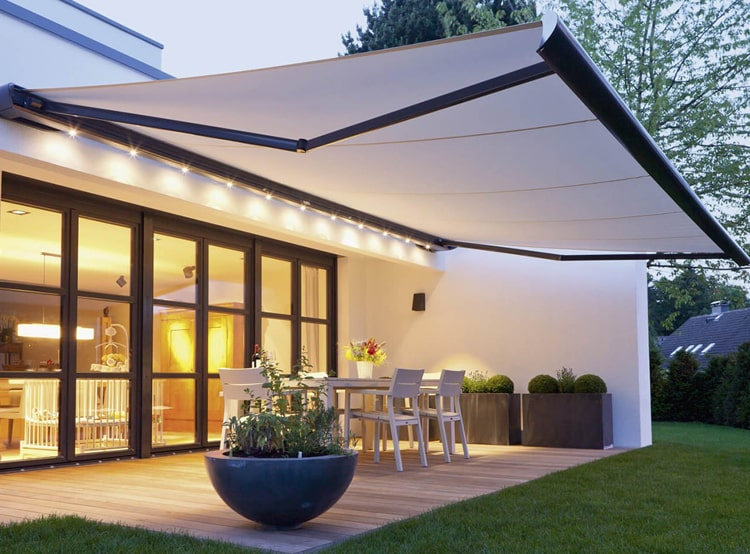 Automatic Awnings for House Design | Archi-living.c