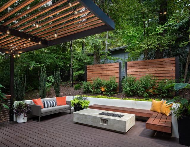 Atlanta Backyard Retreat - Contemporary - Deck - Atlanta - by .