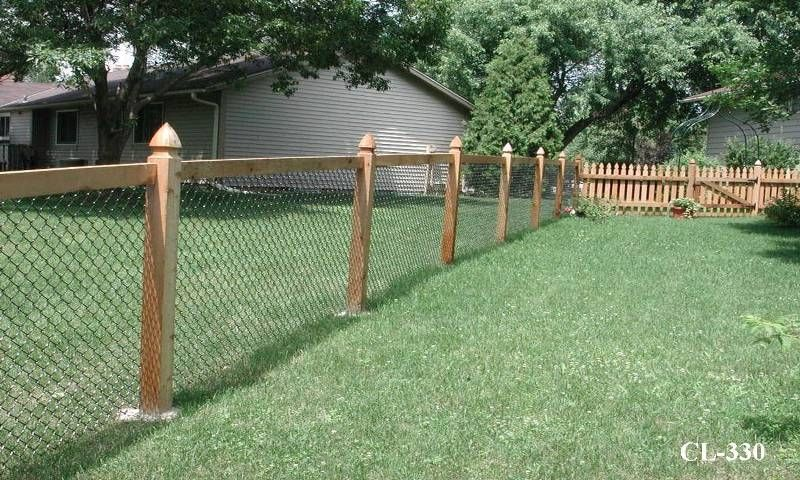 Inexpensive, See Through Fence. - Landscaping & Lawn Care - DIY .