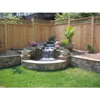 Outdoor Corner Fountains - Ideas on Fot