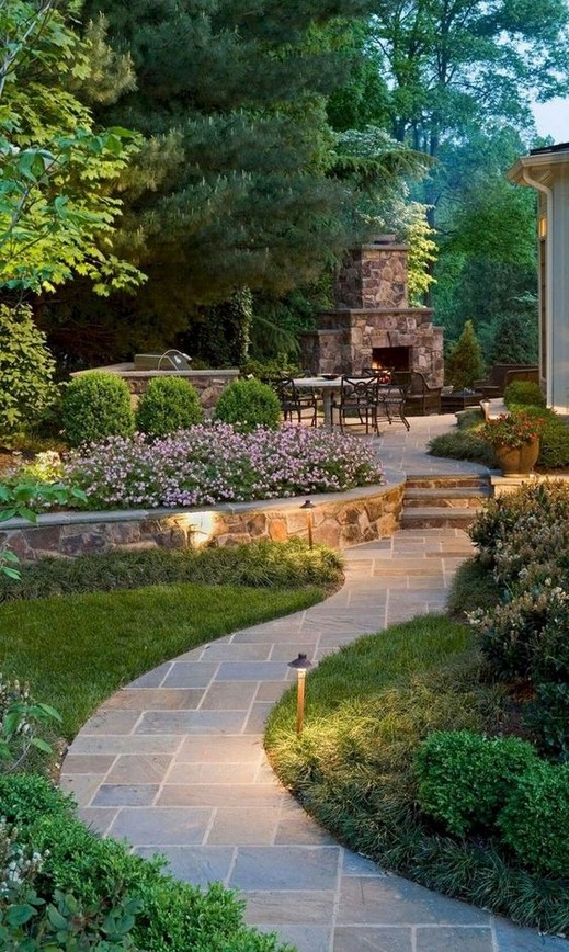 99+ Small Backyard Garden Landscaping Ideas with Rocks & Pool on a .