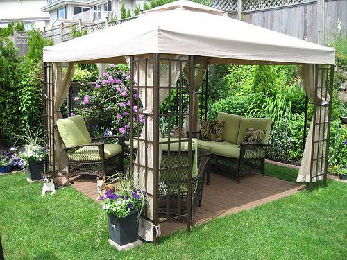 Cool-Backyard-Ideas-with-Gazebo | Backyard gazebo, Inexpensive .